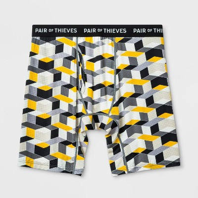 Pair of Thieves Men's Super Fit Long Boxer Briefs