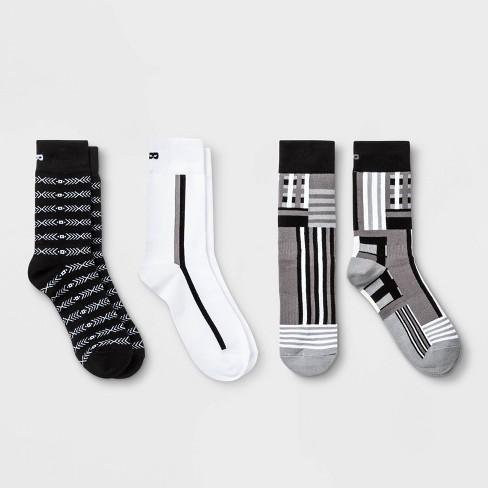 Pair of Thieves Scales Crew Socks 3pk - Gray - image 1 of 2