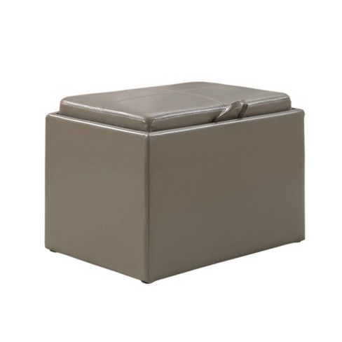 Accent Storage Ottoman - Convenience Concepts - image 1 of 4