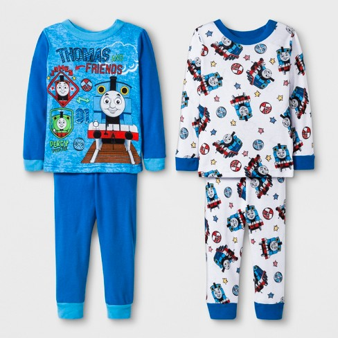 be8136fa9a Baby Boys  Thomas   Friends 4pc Pajama Set - Blue   Target