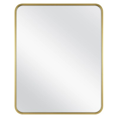 "24"" x 30"" Rectangular Decorative Wall Mirror with Rounded Corners - Project 62™"