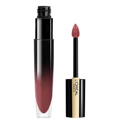 L'Oreal Paris Brilliant Signature Shiny Lip Stain Lipstick with Precision Applicator - 0.21 fl oz