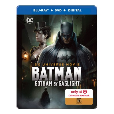 Batman: Gotham by Gaslight Target Exclusive (Blu-ray + DVD + Digital)