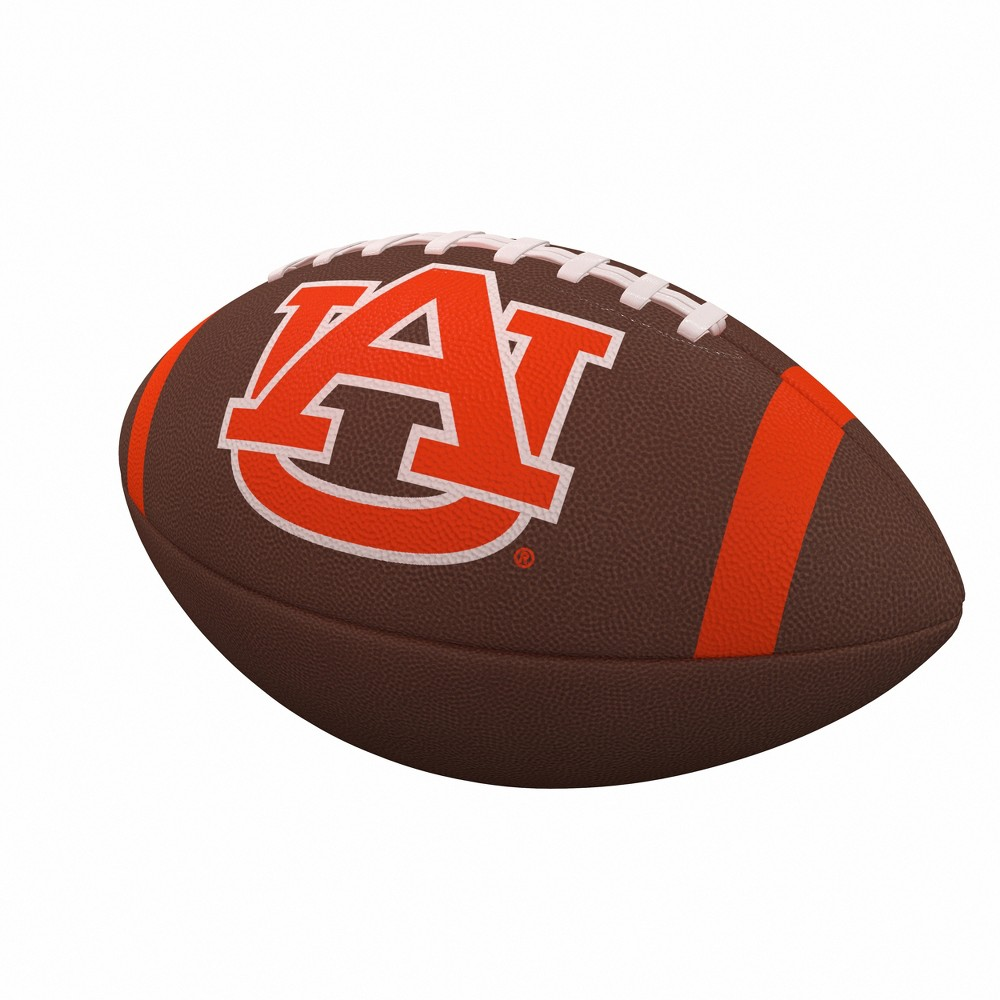 NCAA Auburn Tigers Team Stripe Official-Size Composite Football