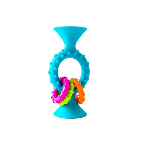 Fat Brain Toys Baby Toddler and Learning Toy PipSquigz Loops - Teal - image 1 of 3