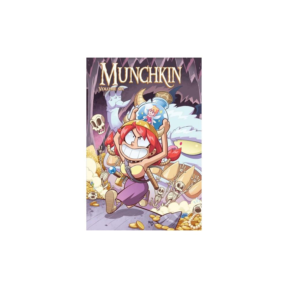 Munchkin 6 (Paperback) (Sam Sykes & Nicole Andelfinger & Andrew Hackard)