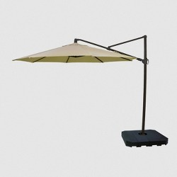 11' Offset Patio Umbrella Sunbrella Spectrum - Black Pole - Smith & Hawken™