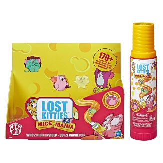 Lost Kitties Mice Mania Easy Squeeze Mice Can - Series 3 Blind Pack