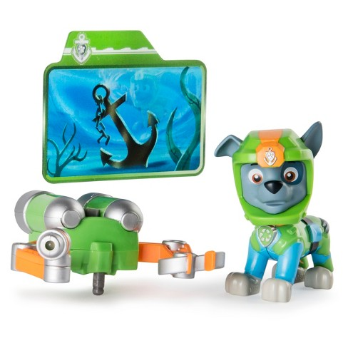 Paw Patrol Sea Patrol - Light Up Rocky with Pup Pack and Mission Card - image 1 of 6
