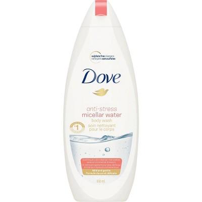 Body Washes & Gels: Dove Anti-Stress Micellar
