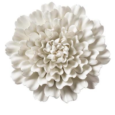 "VivaTerra Ceramic Wall Flowers, 4"""