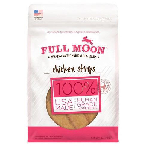 Full Moon Chicken Strips Dog Treats - image 1 of 3