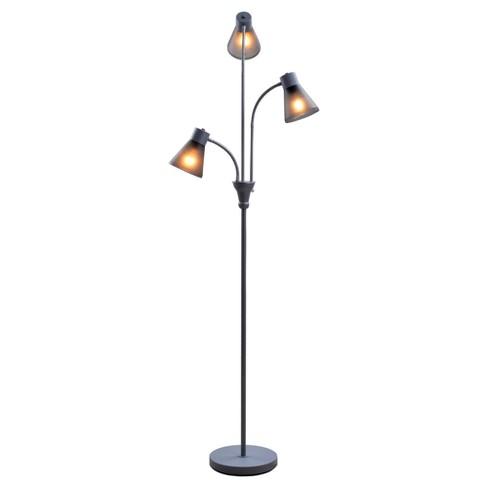 Multi Head Floor Lamp Gray Room Essentials Target