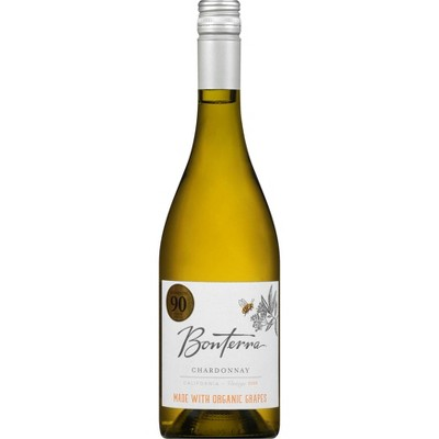 Bonterra Chardonnay White Wine - 750ml Bottle