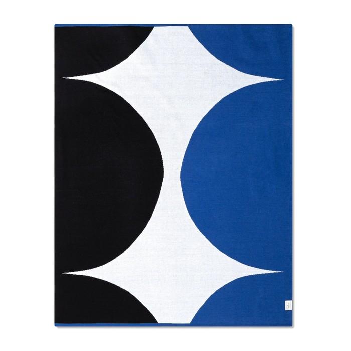 "60""x50"" Throw Blanket Blue/Black - Marimekko for Target - image 1 of 2"