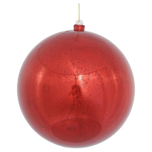 "8"" Shiny Mercury Ball- Red - image 1 of 1"