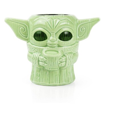 "Beeline Creative Geeki Tikis Star Wars: The Mandalorian The Child ""Baby Yoda"" Mug | 16 Ounces"