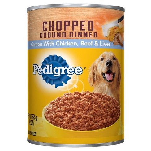 Pedigree Chopped Chicken Beef Liver Meaty Target