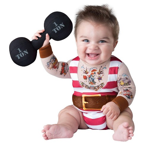 Baby Silly Strongman Costume - (6-12 Months) - image 1 of 1