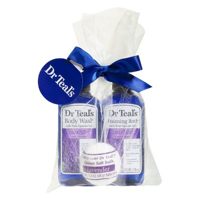 Dr Teal's Bath and Body Mini Gift Set - Lavender - 3pc