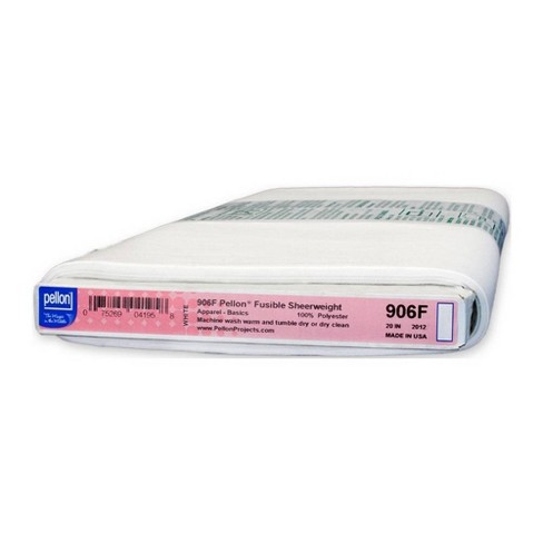 """Pellon 20"""" x 30yd Fusible Sheerweight Interfacing - White - image 1 of 1"""
