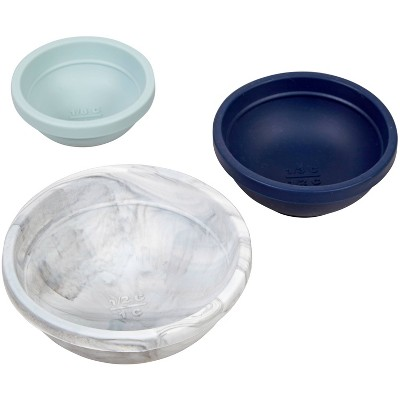 Wilton 3pc Sylish Silicone Prep Bowl Set