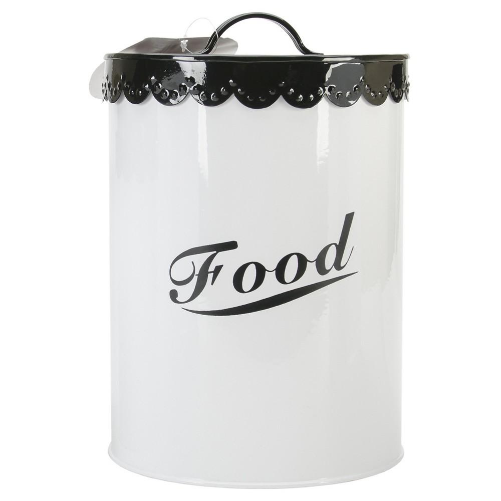 Buddy's Line Food & Treat Canister Set - Black
