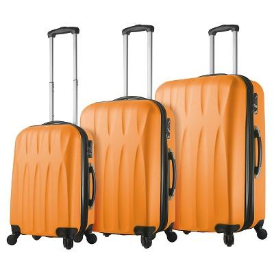 Mia Viaggi Pavia Hardside 3pc Luggage Set - Melone