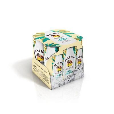 Malibu Pina Colada 4pk/355ml Cans
