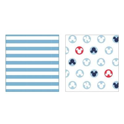 Mickey 2pk Crib Sheet