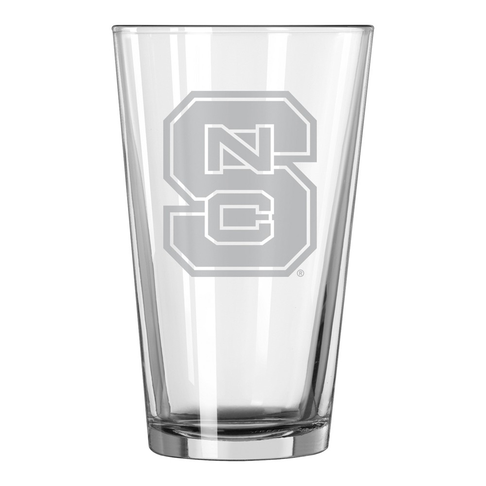 NCAA NC State Wolfpack Single Boxed Pint Glass - 16oz