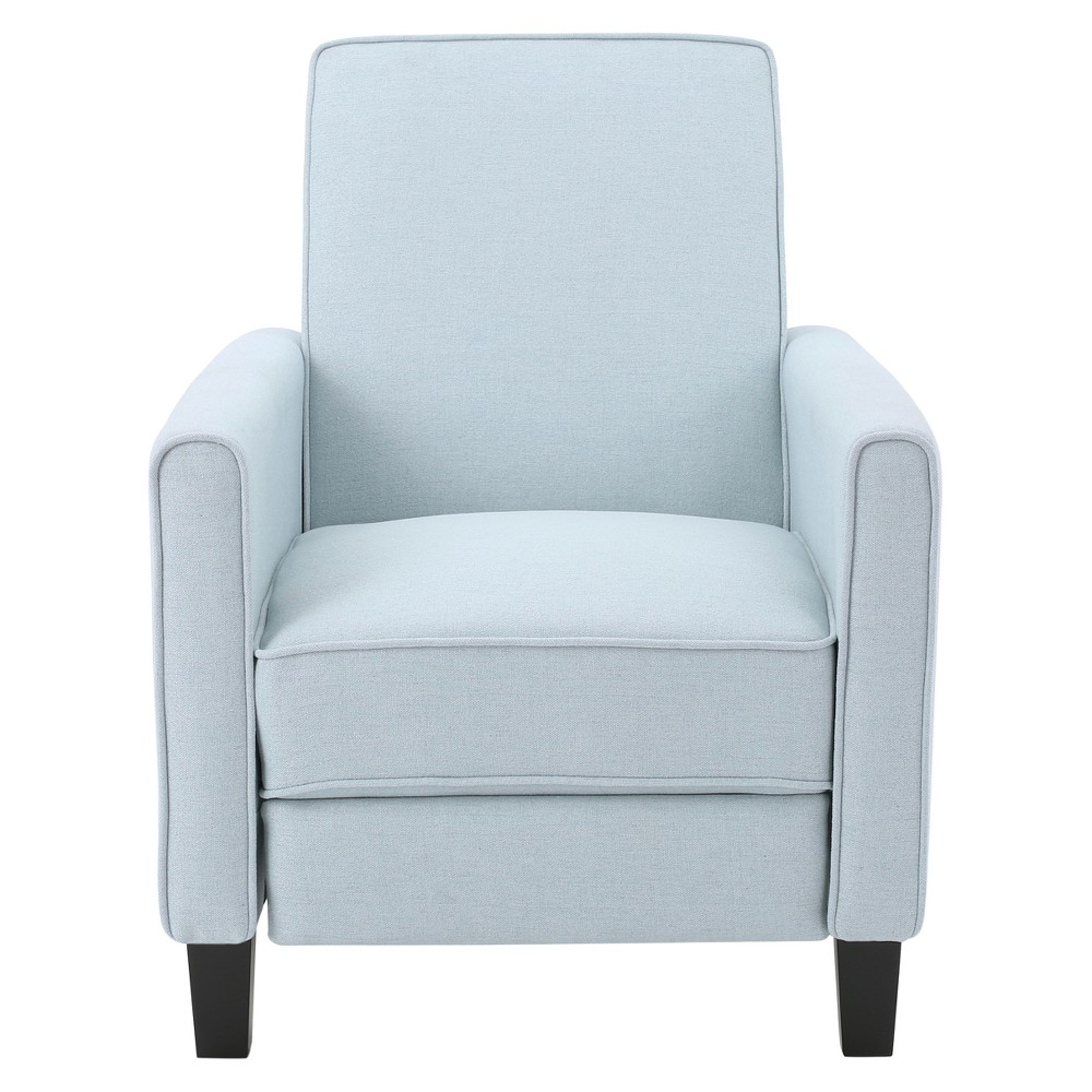 Darvis Recliner Club Chair - Light Blue - Christopher Knight Home