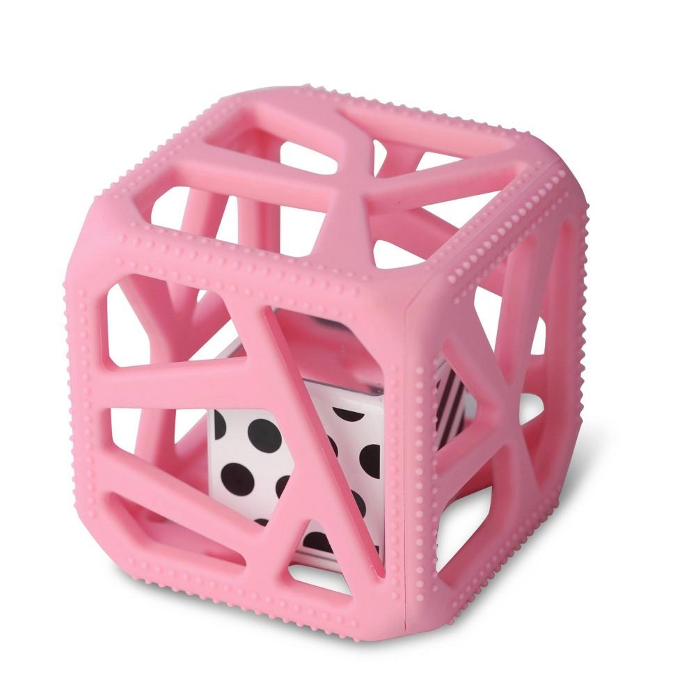 Image of Malarkey Kids Chew Cube - Pink