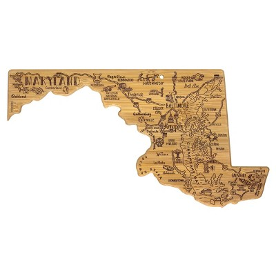 Totally Bamboo Destination Maryland Serving and Cutting Board