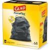 Glad ForceFlex + Large Drawstring Black Trash Bags - 30 Gallon - 68ct - image 4 of 4