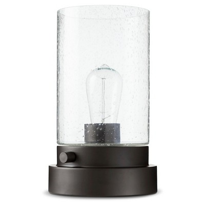 Hudson Industrial Uplight Lamp Black Lamp Only - Threshold™