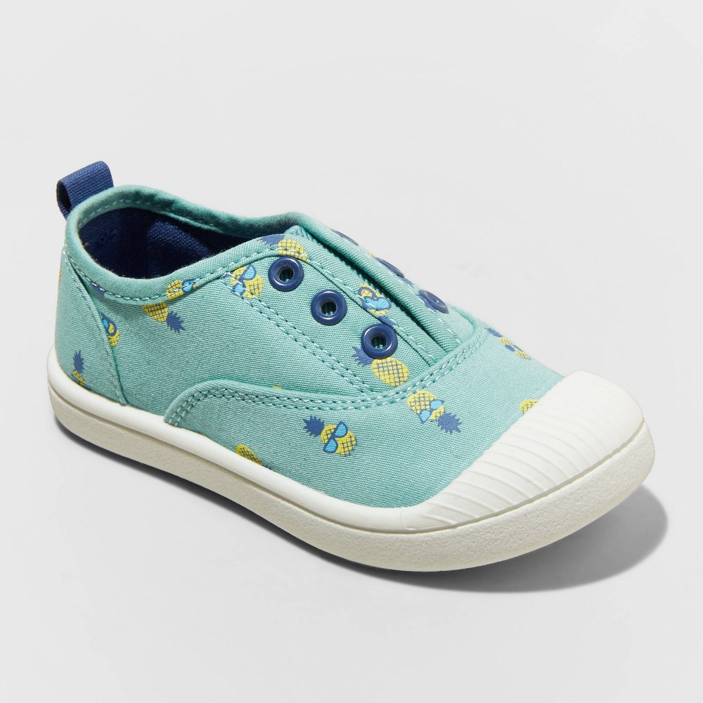 Toddler Rory Slip On Apparel Sneakers Cat 38 Jack 8482 Blue 9