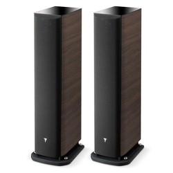 Focal Aria 926 3-Way Bass Reflex Floorstanding Speakers - Pair (Dark Walnut)