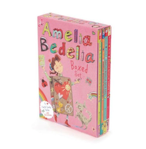 Amelia Bedelia Chapter Book Box Set #2: Books 5-8 (Paperback) (Herman Parish) - image 1 of 1