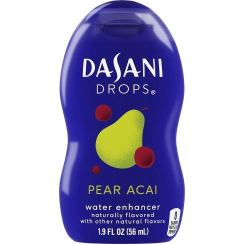 Dasani Drops Pear Acai Flavor Enhancer - 1.9 fl oz Bottle - image 1 of 4