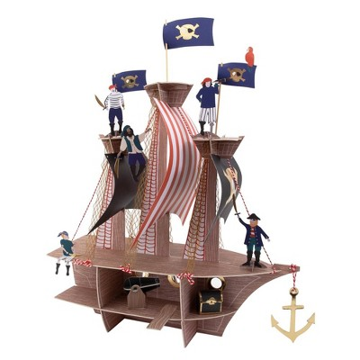 "Meri Meri Pirates Bounty Centerpiece – Party Decorations and Accessories – 20"" x 21"" x 15"""