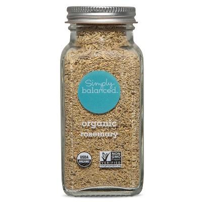 Organic Rosemary - 1.5oz - Simply Balanced™