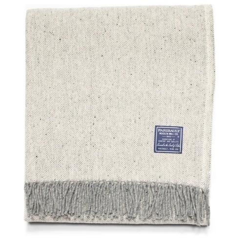 "50""x60"" Ashby Twill Throw Blanket - Faribault Woolen Mill - image 1 of 3"