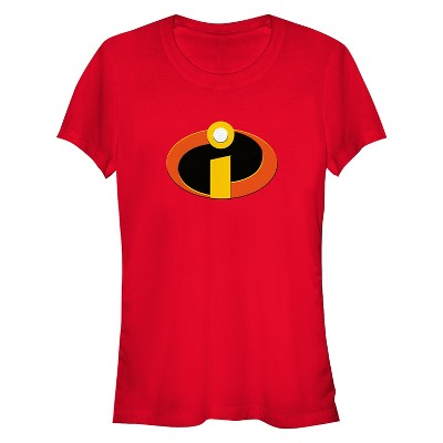 Junior's The Incredibles Classic Logo T-Shirt