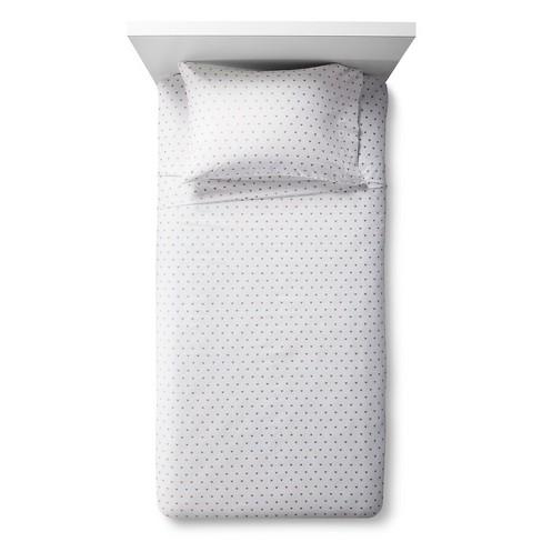 Metallic Hearts Sheet Set - Pillowfort™ - image 1 of 2