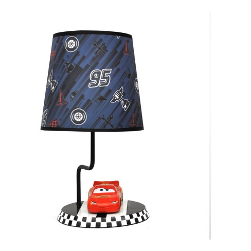 Disney Cars Red Table Lamp with Lightbulb - image 1 of 2