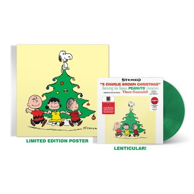 Vince Guaraldi Trio - A Charlie Brown Christmas (Lenticular)(Target Exclusive, Vinyl)