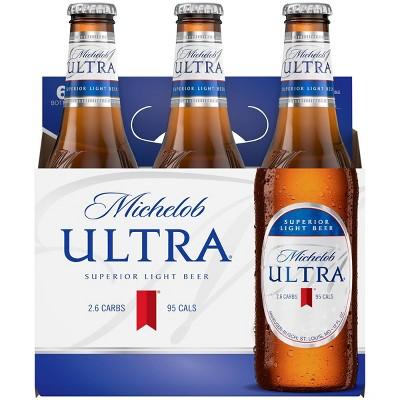 Michelob Ultra Superior Light Beer - 6pk/12 fl oz Bottles
