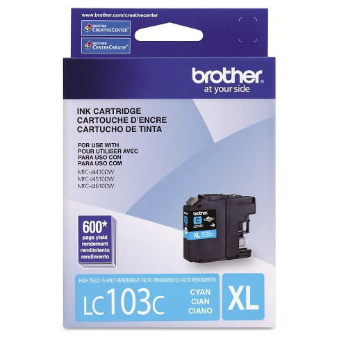 Brother LC103 Innobella High-Yield Single Ink Cartridge - Cyan, Magenta, Yellow - image 1 of 1