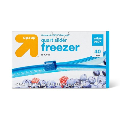 Slider Freezer Bags - up & up™